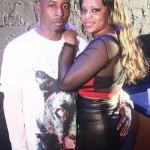 Marcus Scott with girlfriend